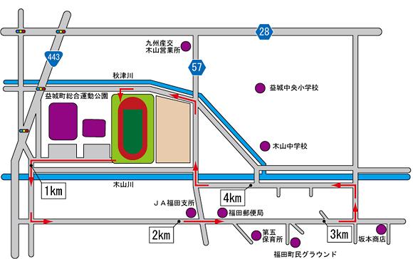 5kmコース図